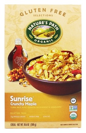 Nature's Path Organic - Cereal Sunrise Gluten-Free Crunchy Maple - 10.6 oz.99 pack of 2