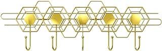 Ganchos montados en la pared de servicio pesado Captura de sala de estar de entrada creativa con 5 ganchos para decoración...