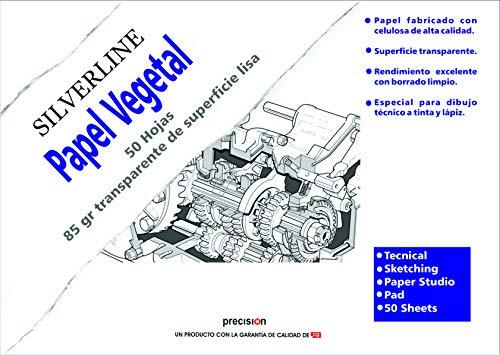 Bloc Enc A4, 50 Hojas, Canson Vegetal Graphic Microfino 95g