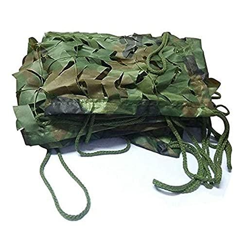 LHL-DD Red de Camuflaje de 13X19FT Rollo a Granel-Red de Camuflaje Militar Tela Oxford Cubierta de Red de sombreado para sombrilla, Camping, al Aire Libre