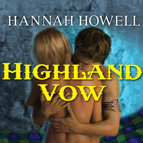 Highland Vow audiobook cover art