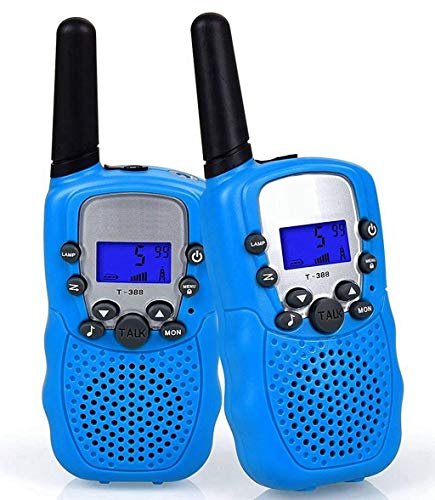Flybiz Talkies Walkies, PMR446 8 Canaux,1 Paire Enfants Talkie Walkie 3 km de Long Distance...