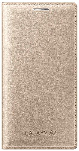 Samsung Schutz Folio Flip Schutzhülle für Samsung Galaxy A3,gold