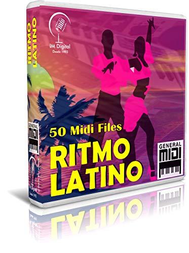 Ritmo Latino - Pendrive USB OTG para Teclados Midi, PC, Móvil, Tablet, Módulo o Reproductor Midi Que utilices - Contiene 50 Midi Files De Música Latina - General Midi - Midis