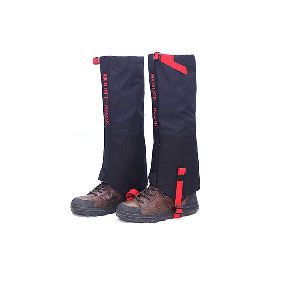 評価可能旅行人種登山ゲイター スパッツ 防水 泥除け 雨よけ 雪対策 収納袋付き レッグカバー 登山 アウトドア トレッキング 男女兼用 2サイズ