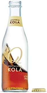Q Mixers Kola, Premium Cocktail Mixer, 6.7 oz (24 Bottles)