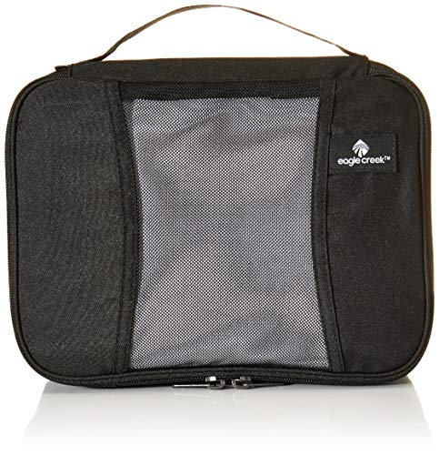 Eagle Creek Pack-It Original Half Cube, black Organizer per valigie, 26 cm, 5 liters, Nero (Black)