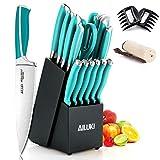 Best Knife Sets - Knife Set, AILUKI 19 - Piece Kitchen Knife Review