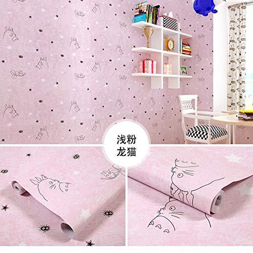 LZYMLG Papel pintado autoadhesivo de PVC para dormitorio, sala de estar, habitación de los niños, decoración del gabinete de la etiqueta engomada impermeable del dormitorio del fondo de la pa