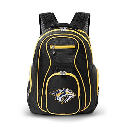 Sale!! NHL Nashville Predators Colored Trim Premium Laptop Backpack