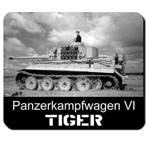 Tiger Panzer Panzerkampfwagen VI 6 Wh Wk Deutschland Legende Panzertruppe - Mauspad Mousepad Computer Laptop PC #7950