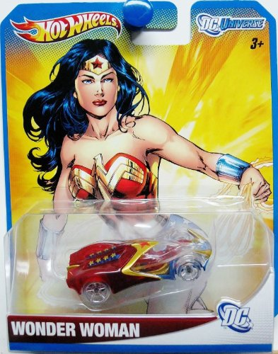 2012 Hot Wheels DC Universe WONDER WOMAN 1:64 Scale Collectible Die Cast Car by Mattel (English Manual)