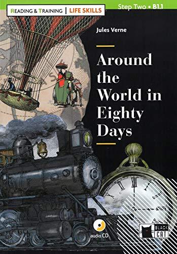 Around the World in Eighty Days: Englische Lektüre für das 3. und 4. Lernjahr. Buch + Audio-CD (Life Skills)