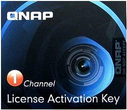Qnap Camera License Activation Key for Surveillance Station Pro for QNAP NAS (LIC-CAM-NAS-1CH)
