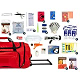 Complete Earthquake Bag - Emergency kit for Earthquakes, Hurricanes, Wildfires, Floods + other disasters (5 person, 3 days)
