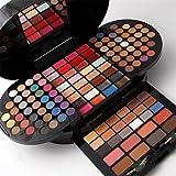 BrilliantDay set palette 130 colori per makeup cosmetici professionali, include rossetto correttore ombretti lucidalabbra fard cipria fondotinta Polvere del sopracciglio