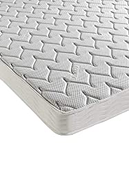 Our luxurious Silver Memory mattress has been enriched with Silver fibres to provide natural anti-bacterial and anti-odour properties that help eliminate unpleasant odours caused by moisture absorption in the mattress. 2cm of luxurious memory foam pl...
