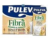 Puleva Leche con Fibra, 6 x 1L