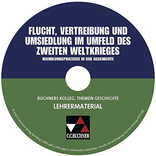 Flucht, Vertreibung und Umsiedlung im Umfeld des Zweiten Weltkrieges, Lehrermaterial, CD-ROMWandlungsprozesse in der Geschichte