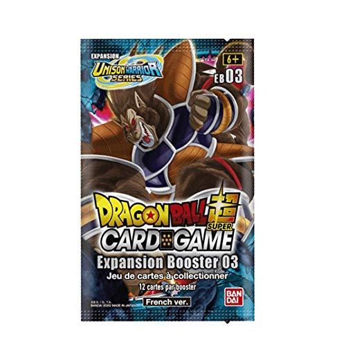Dragon Ball Super Card Game – Booster de 12 cartas EB03: Expansión Booster 03 Giant Force – Versión francesa