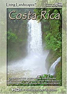 Living Landscapes HD Costa Rica WMV-HD Version for Windows Media and PC's