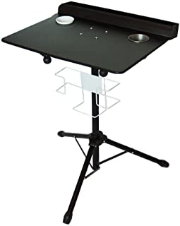 Tattoo Workstation Large Tattoo Table Portable Colapsable Tray with Adjustable Height Stand