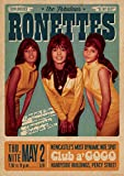 The Fabolous RONETTES Poster LIVE Club A'GOGO Newcastle