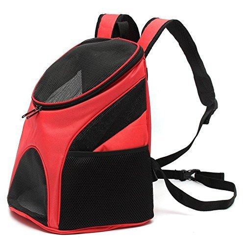 olayer Pet Portable Chien Chat Chiot Voyage Double épaule Sac à dos sport Voyage sac extérieur pour animal domestique