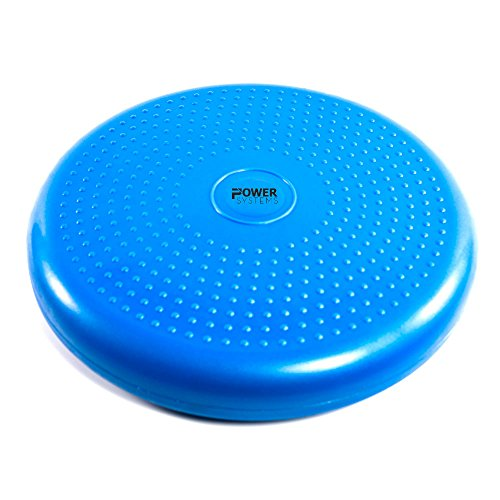 Power Systems VersaDisc for Balance Training, 13.5 Inch Diameter x 2.5 Inches High, Blue, (80159)