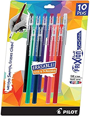 Pilot Frixion ColorSticks Erasable Gel Ink Pens, by Pilot Pen Corporation of America