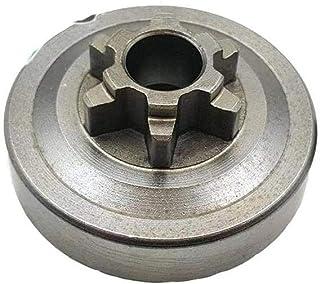 """Piñón campana embrague motosierra 3/8"""" 6 dientes compatible con motosierras originales y clones de 25 cc 2500, Alpina, Echo, Efco, Sandrigarden, Sthil, McCulloch"""