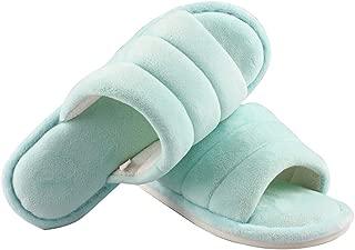 MK MATT KEELY Open Toe Women/Men Slippers Warm and Non-Slip House Shoes Memory Foam