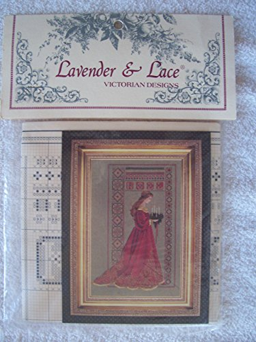 Lavender & Lace Counted Cross Stitch Chart Pattern - Celtic Christmas