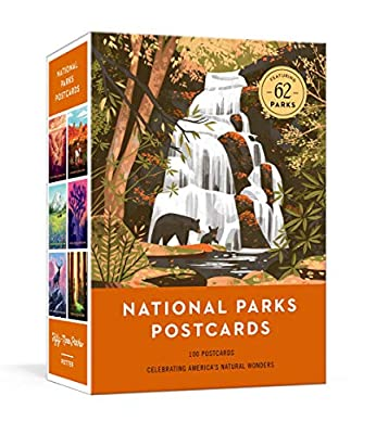National Parks Postcards: 100 Illustrations That Celebrate America's Natural Wonders by Clarkson Potter