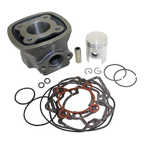 Zylinder Kit LC 4-Eckig 50ccm Piaggio Quarz, NRG,MC 2, Zip, Gilera Runner 50 bis Bj. 97