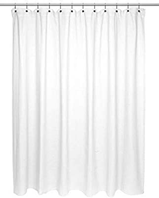 "Ben & Jonah Chevron Weave 100% Cotton Shower Curtain, Size 72""X72"" in White Splash Collection by Ben&Jonah"