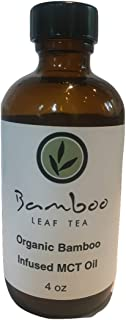 MCT Oil Infused with Bamboo Leaf Tea (4 oz)