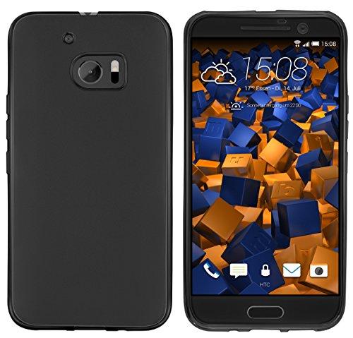 mumbi Hülle kompatibel mit HTC 10 Handy Case Handyhülle, schwarz