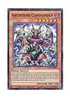 遊戯王 英語版 CT11-EN006 Archfiend Commander デーモンの将星 (スーパーレア) Limited Edition