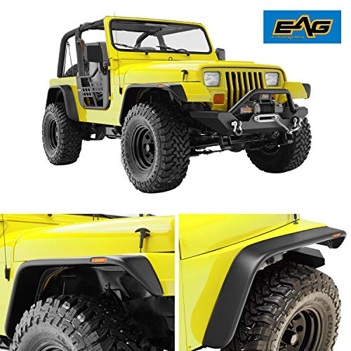 jeep yj front fender flares - 2