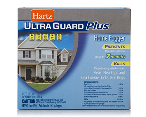 Hartz UltraGuard Plus Flea, Tick and Bed Bug Home...