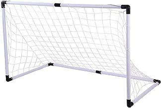 Hli-SHJHsmu Kids Soccer Goal Set Multi-Purpose Sports Toy Set Portable Football Net Outdoor Training Goals Sport Play Set