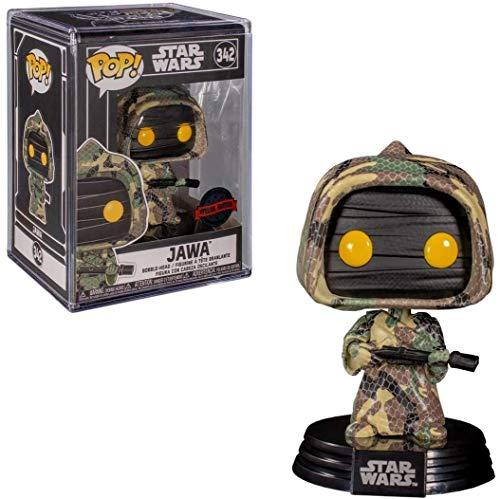 POP 2020 Shared Exclusive Star Wars #342 Futura Jawa (Camouflage)