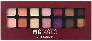 City Color Eyeshadow, Multi Color, 14 Color