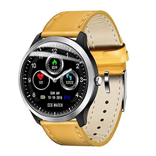 RONSHIN Fitness Tracker, N58 Smart Horloge Sport Armband PPG ECG HRV Rapport Hartslag Bloeddruk Test Monitor Stappenteller