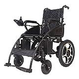 WXDP Silla de ruedas autopropulsada,Movilidad eléctrica plegable portátil,Silla de potencia ligera,Scooter para ancianos discapacitados, Ancho del asiento 49Cm, Batte de litio 20A