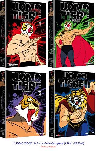 L'UOMO TIGRE 1+2 - La Serie Completa (4 Box - 29 Dvd) Ed. Italiana