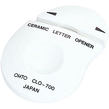 オート レターオープナー セラミックレターオープナー シロ CLO-700シロ
