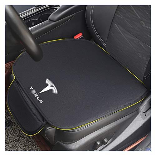 Sun Can Cojín de asiento de coche Cojín de cúm de automóviles Silla de oficina Silla de oficina para uso en casa Cojín de asiento de espuma de memoria Fit para Tesla Modelo 3 Modelo S Modelo X