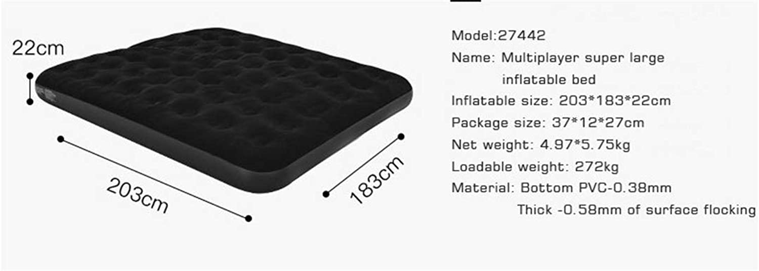 Camping Mat Inflatable Mattress Double Persons Household Gas Filled Bed Outdoor Portable Air Cushion Bed